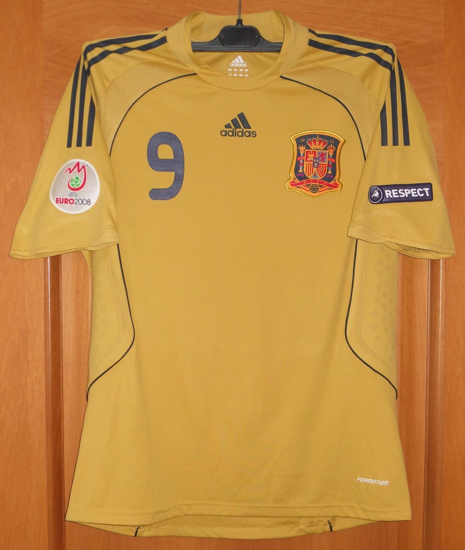 Spain Away football shirt 2008 - 2010.