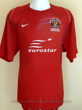 Ebbsfleet United Cup Shirt football shirt 2008