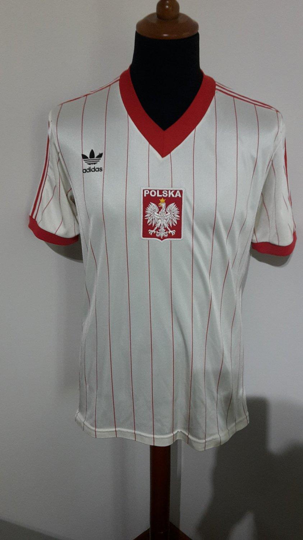 044220b9e16 Poland Home maglia di calcio 1982.