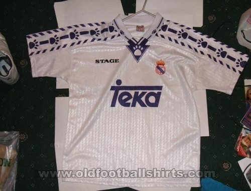 Fake & Counterfeit Shirts from all over Home football shirt 1994 - 1996