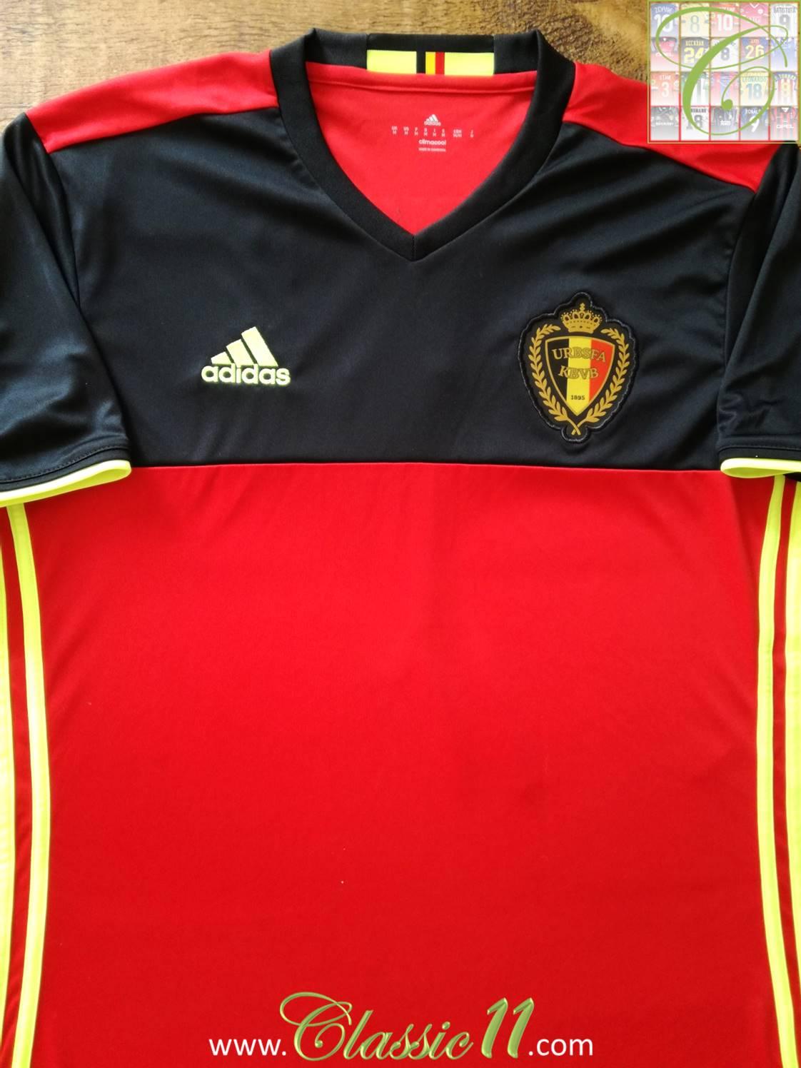 fe697879e99 Belgium Home maglia di calcio 2016 - 2017.