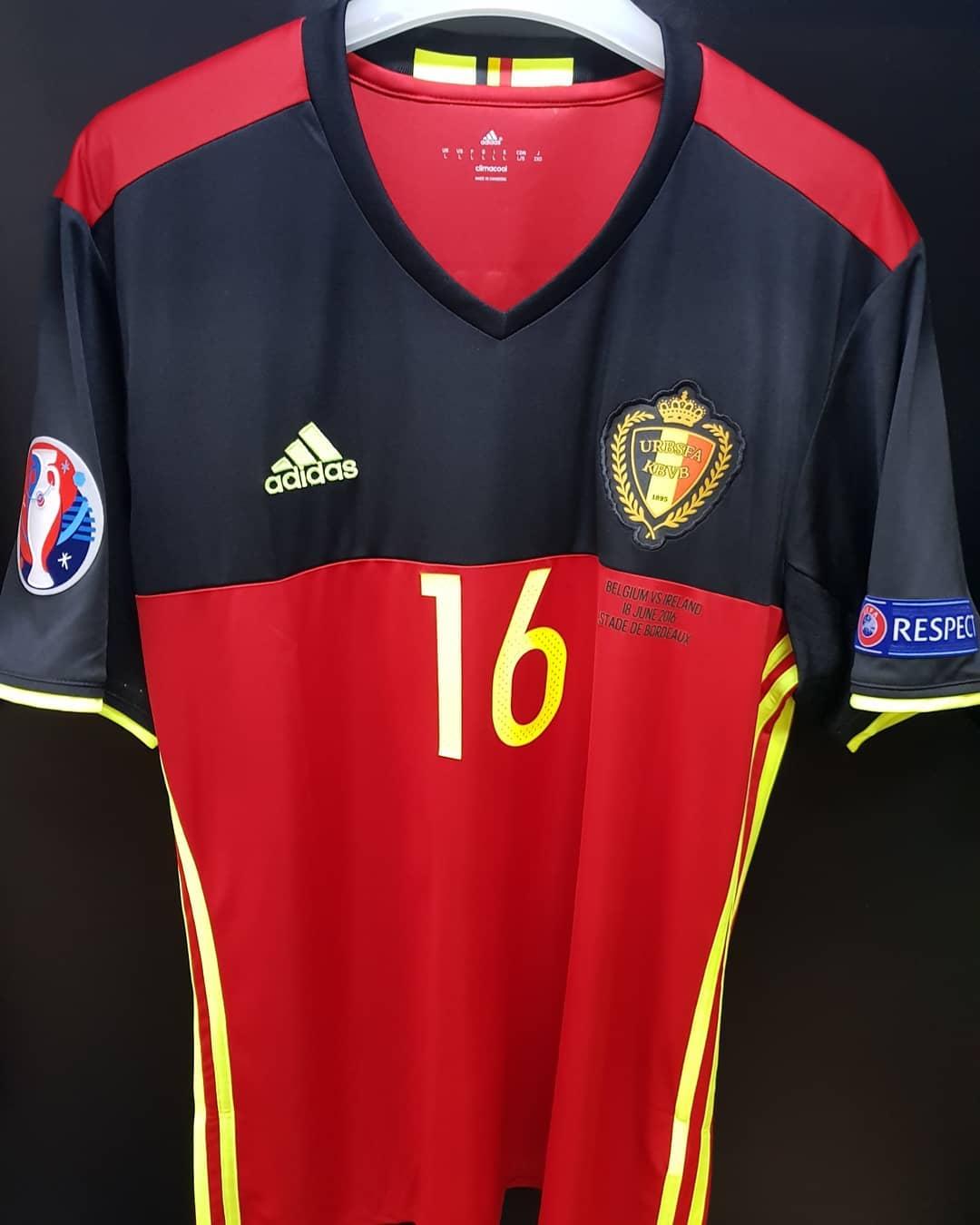 6033e7764 Belgium Home maglia di calcio 2016 - 2017 ...