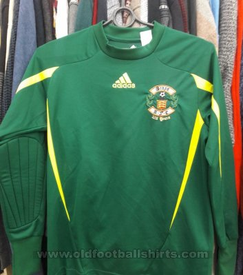 Grays Athletic Penjaga gol baju bolasepak 2010 - 2011