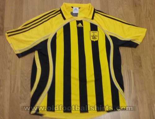 Aris Thessaloniki Home football shirt 2006 - 2007