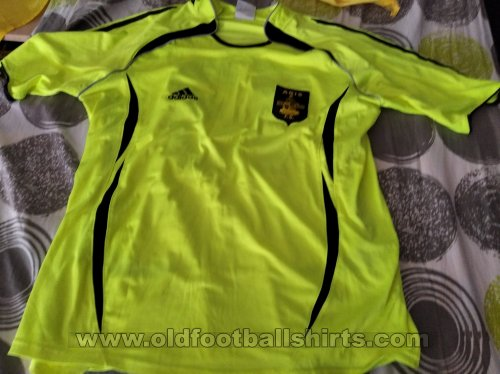 Aris Thessaloniki Third football shirt 2007 - 2008