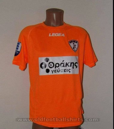 AEL Larissa Goalkeeper football shirt 2018 - 2019