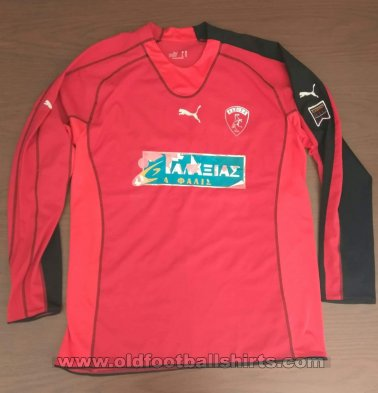 AEL Larissa Goalkeeper football shirt 2005 - 2006
