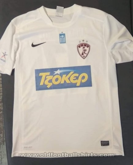 AEL Larissa Away football shirt 2014 - 2015