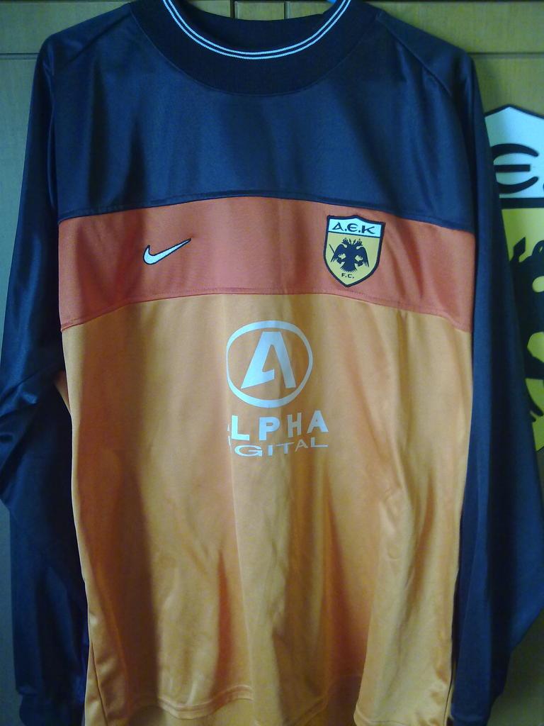Aek Athens Goalkeeper Fanela Podosfairoy 2000 2002