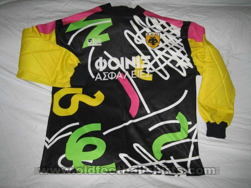 AEK Athens Goalkeeper football shirt 1993 - 1994