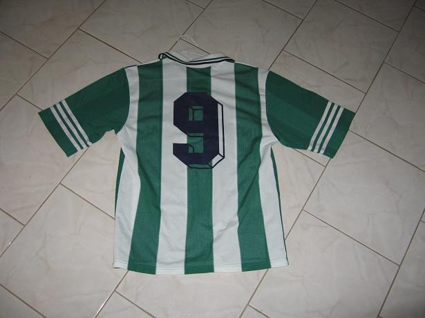 Panathinaikos Home fotbollströja 1997 1998.