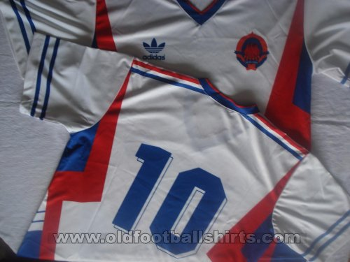 Yugoslavia Retro Replicas football shirt 1989 - 1990