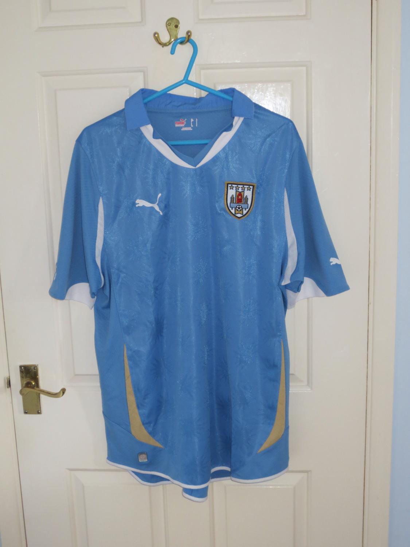2e4d7613111 Uruguay Home football shirt 2010 - 2011.
