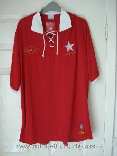 Wisla Krakow Home football shirt 2006.