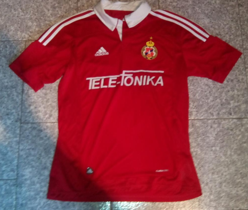 Wisla Krakow Home football shirt 2012 - 2013. Added on ...