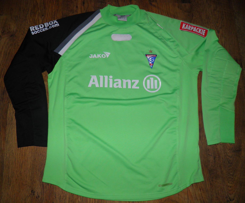Gornik Zabrze: Górnik Zabrze Goalkeeper Football Shirt 2007