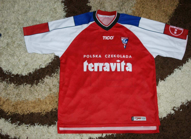 Gornik Zabrze: Górnik Zabrze Home Football Shirt 2003