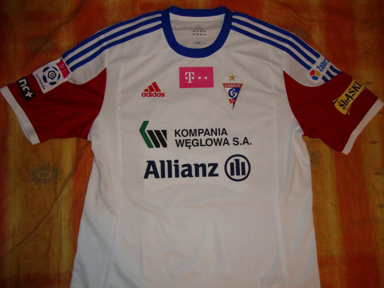 Gornik Zabrze: Górnik Zabrze Home Football Shirt 2013