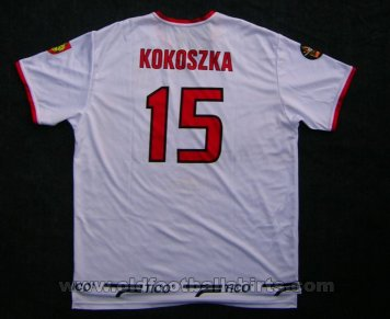 MKS Odra Wodzislaw Slaski Third football shirt 2006 - 2007