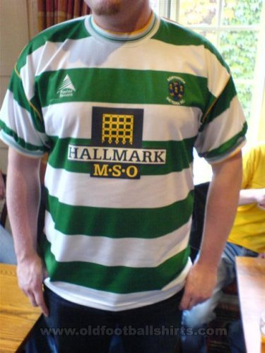 Northwich Victoria Home football shirt 2005 - 2007