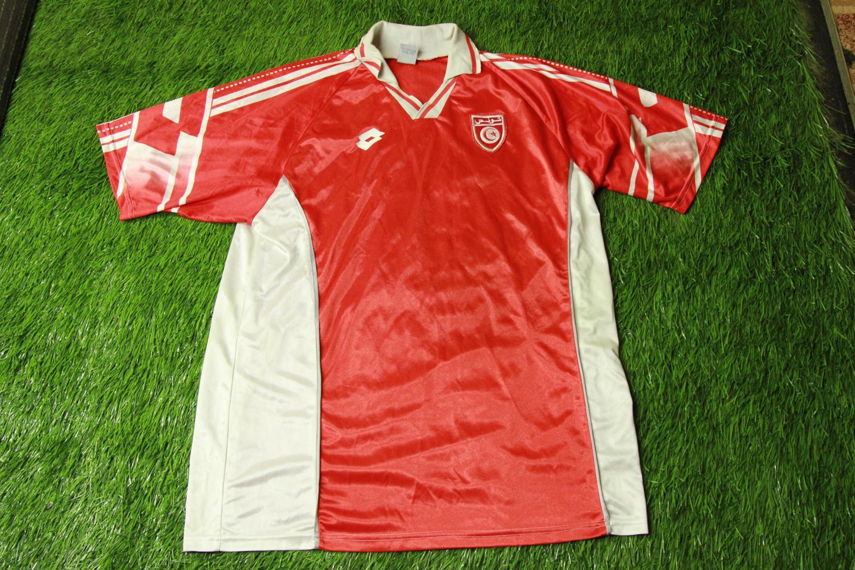440c9e6e4 Tunisia Away maglia di calcio 1997 - 1998.