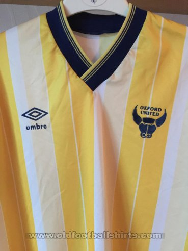 Oxford United Local Camiseta de Fútbol 1987 - 1989