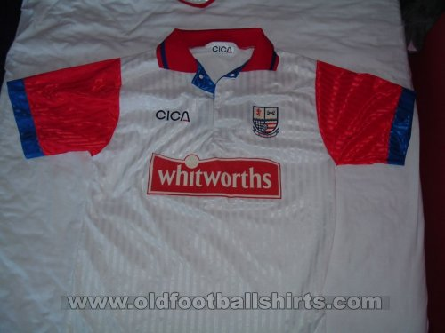 AFC Rushden & Diamonds Local Camiseta de Fútbol 1995 - 1997