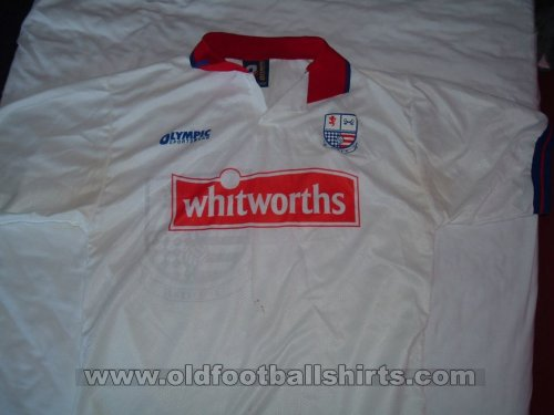 AFC Rushden & Diamonds Домашняя футболка 1997 - 1998
