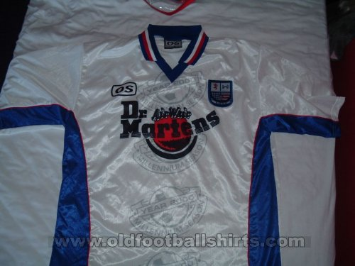 AFC Rushden & Diamonds Домашняя футболка 1999 - 2000