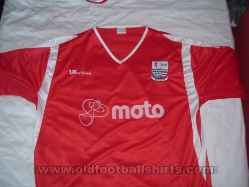 AFC Rushden & Diamonds Домашняя футболка 2006 - 2007