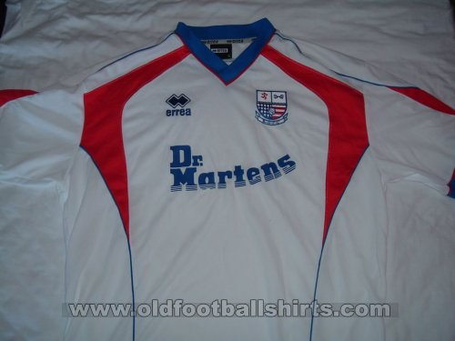 AFC Rushden & Diamonds Home football shirt 2004 - 2006