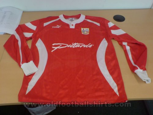 AFC Rushden & Diamonds Home football shirt 1994 - 1995