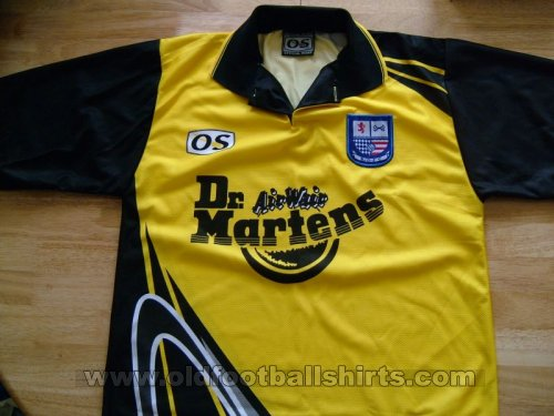 AFC Rushden & Diamonds Away baju bolasepak 1998 - 1999