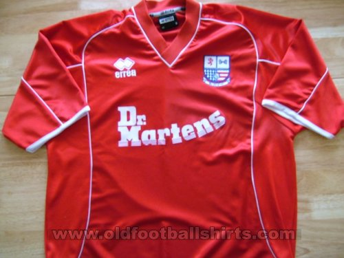 AFC Rushden & Diamonds Away football shirt 2004 - 2005