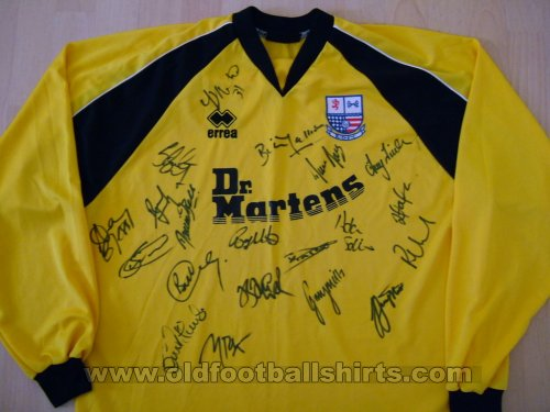 AFC Rushden & Diamonds Away baju bolasepak 2001 - 2003