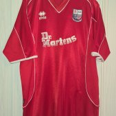 AFC Rushden & Diamonds Home Maillot de foot 2004 - 2005