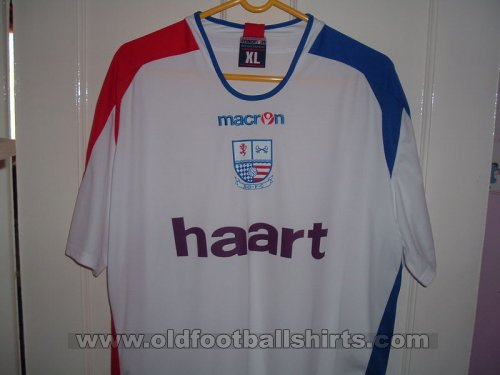 AFC Rushden & Diamonds Home football shirt 2007 - 2008