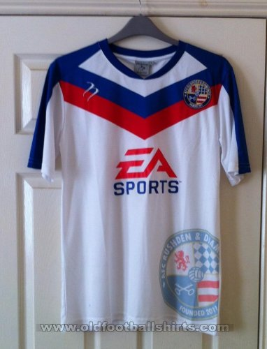 AFC Rushden & Diamonds Home baju bolasepak 2012 - 2014