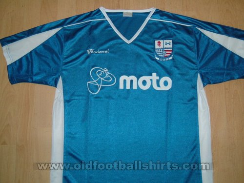 AFC Rushden & Diamonds Away camisa de futebol 2006 - 2007