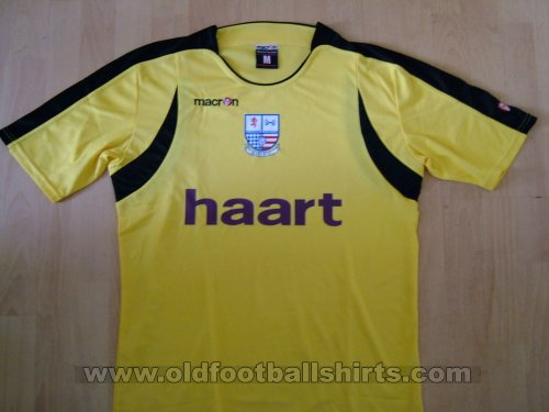 AFC Rushden & Diamonds Away Fußball-Trikots 2007 - 2008