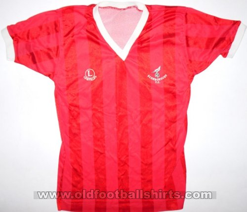 Scarborough Football Club Home baju bolasepak 1984 - 1985