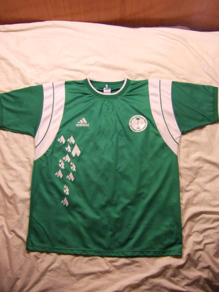 4b8c4d5e9 Saudi Arabia Away camisa de futebol 2001.