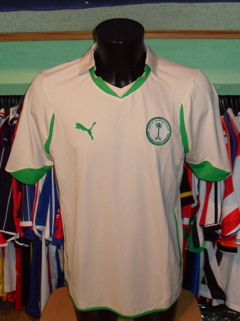 00dfc6e49 Saudi Arabia Home camisa de futebol 2010 - 2012.