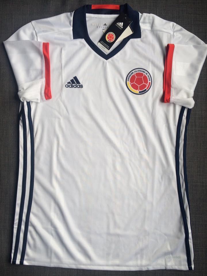 d0c22b9b336 Colombia Away camisa de futebol 2016.
