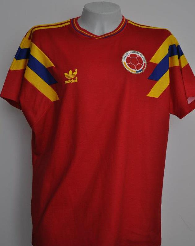 Image result for colombia away jersey 1990