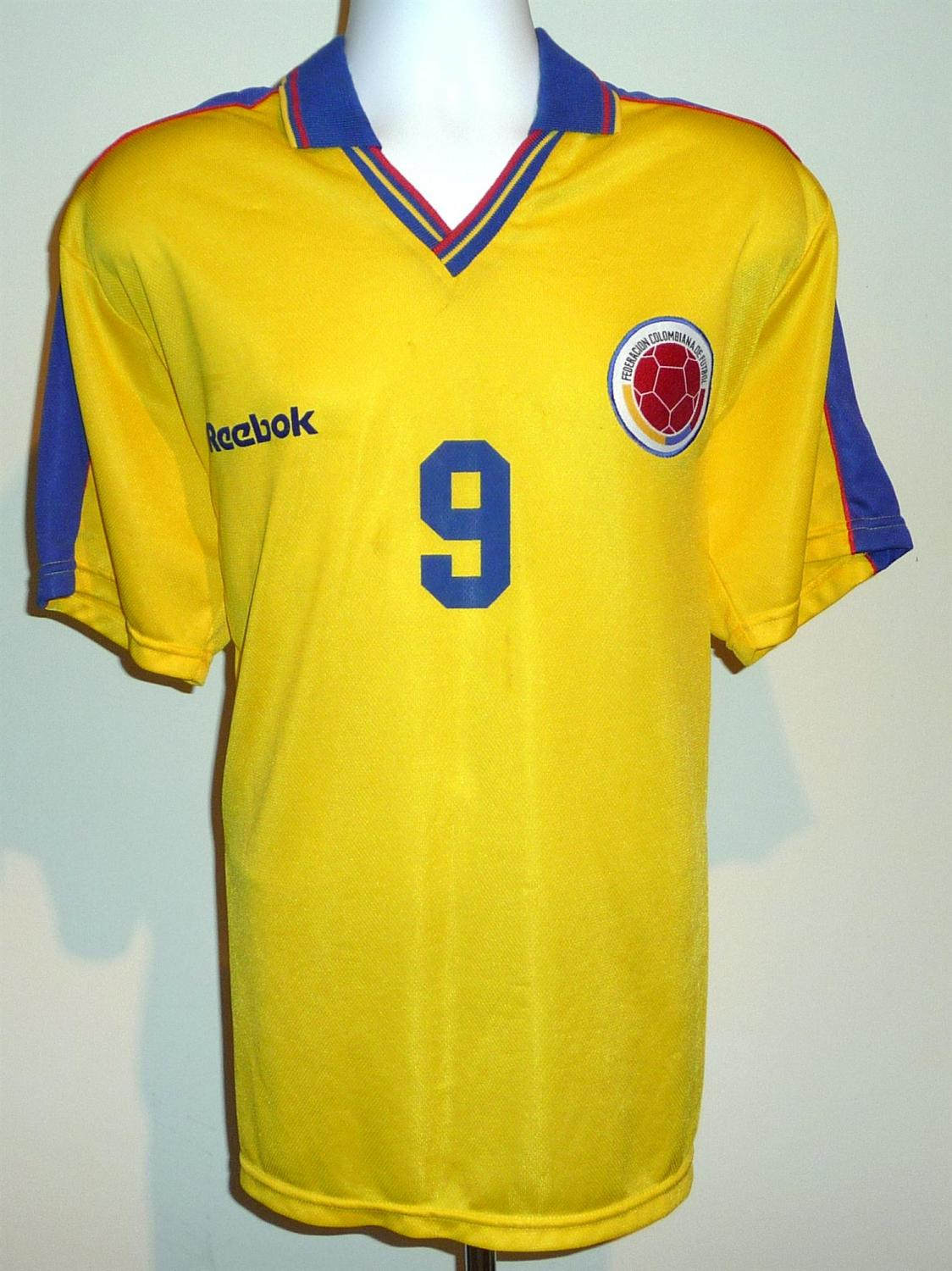 35645db7152 Colombia Home Maillot de foot 1998 - 2000.