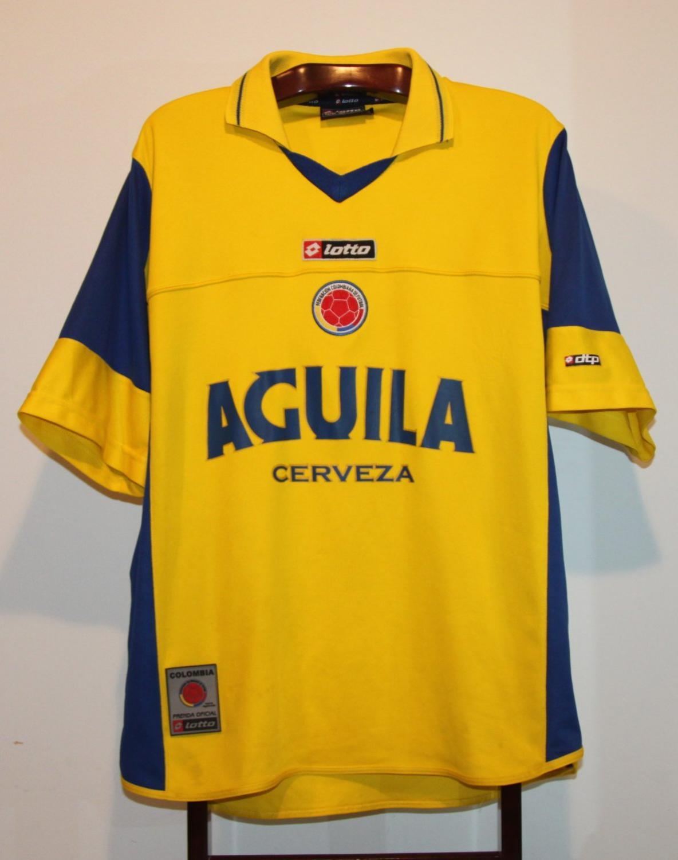 3a2ad933854 Colombia Home fotbollströja 2003 - 2004.