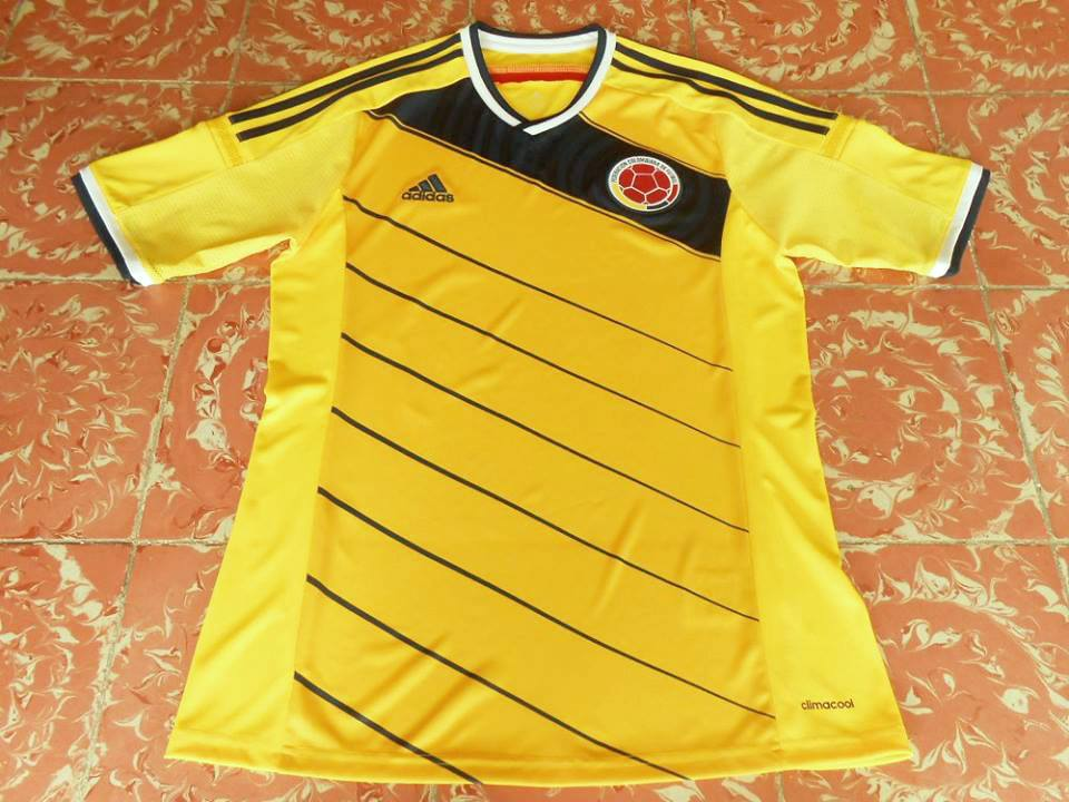 ffeeb8d0a Colombia Home Maillot de foot 2014 - 2015.