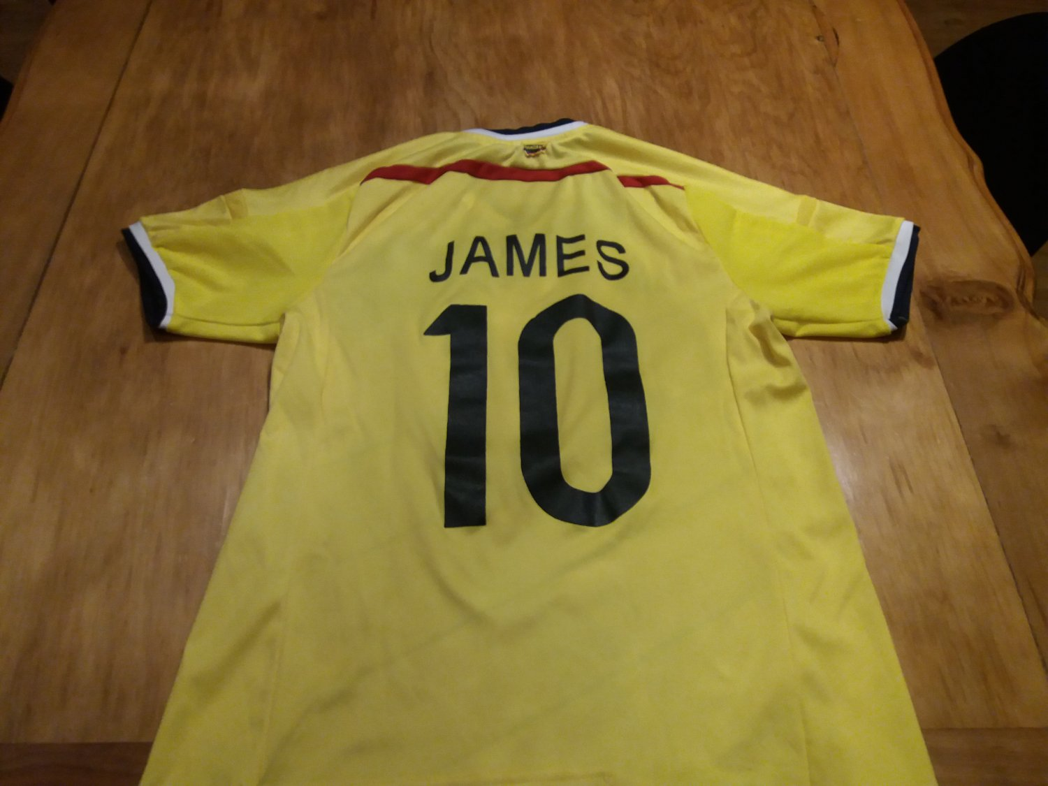 5c63a3842 ... Colombia Home Maillot de foot 2014 - 2015