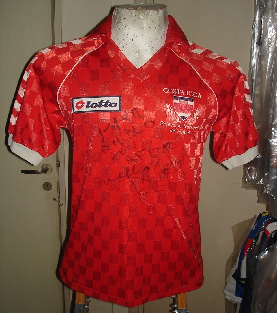 0ca715aef Costa Rica Home baju bolasepak 1990.